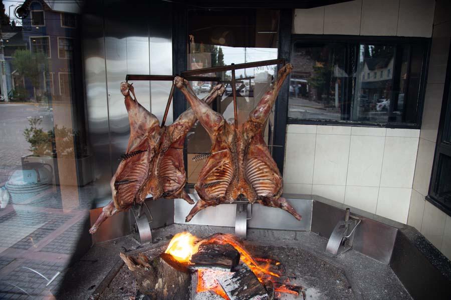 imagem do cordeiro patagônico em El Calafate