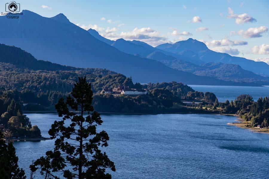 Imagem do mirante no circuito chico em onde ficar em Bariloche