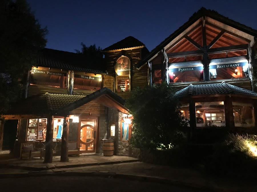 Imagem da Entrada do Restaurante Rincón Patagônia em Bariloche