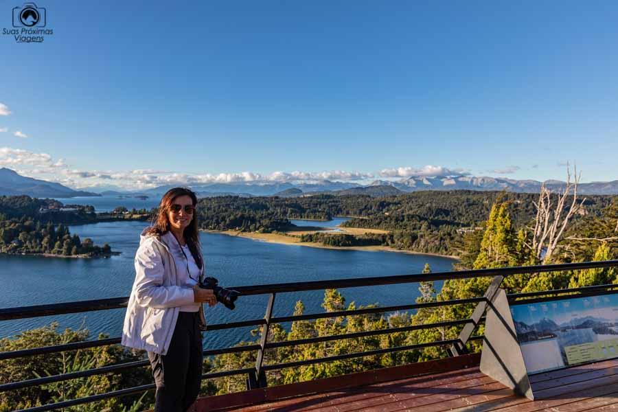 Imagem do lago Nahuel Huapi