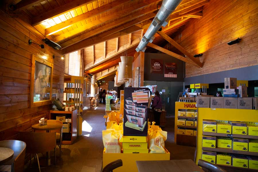 Imagem da Loja no Museu do Chocolate Havana em Bariloche