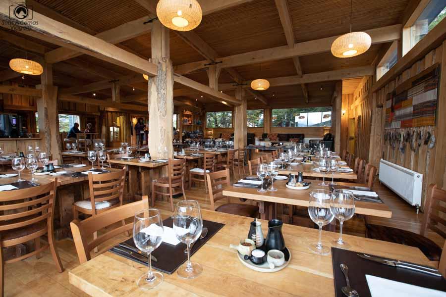 imagem do restaurante do patagonia camp