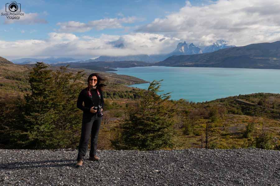 imagem do vento na patagônia chilena