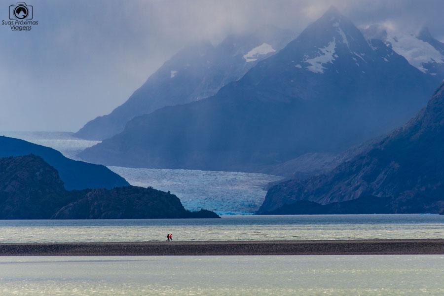 imagem do Glaciar Grey