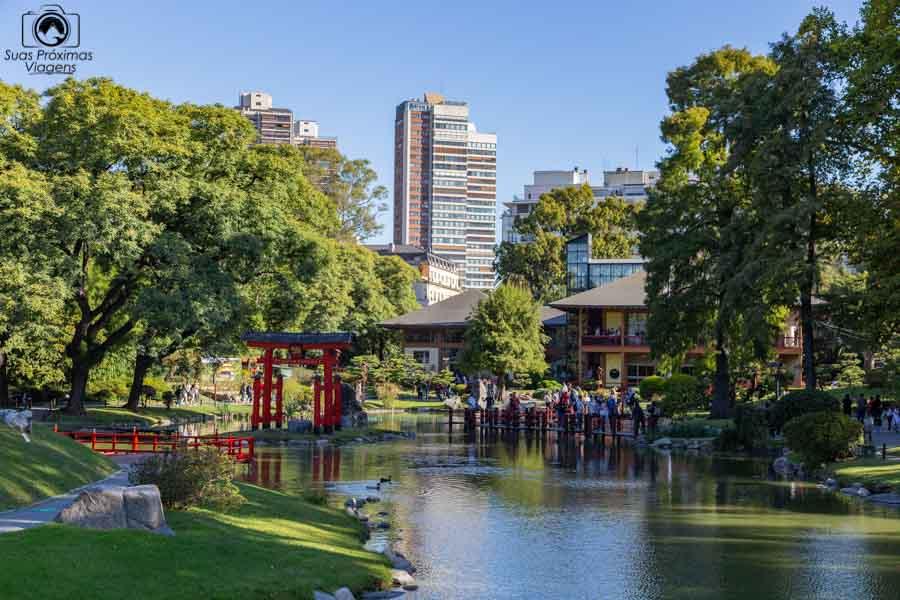 imagem do interior do jardim japonês em o que fazer em  Buenos Aires