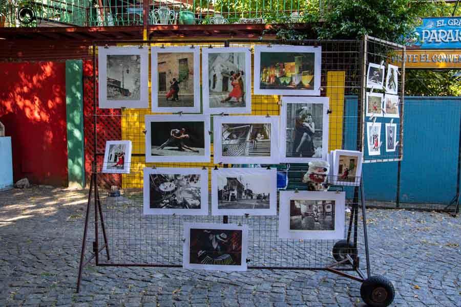 imagem das obras dos artistas de rua