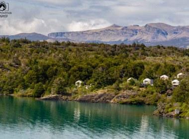 imagem da entrada do Patagonia Camp em Torres del Paine