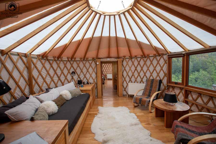 glamping: antesala do Yurt Superior