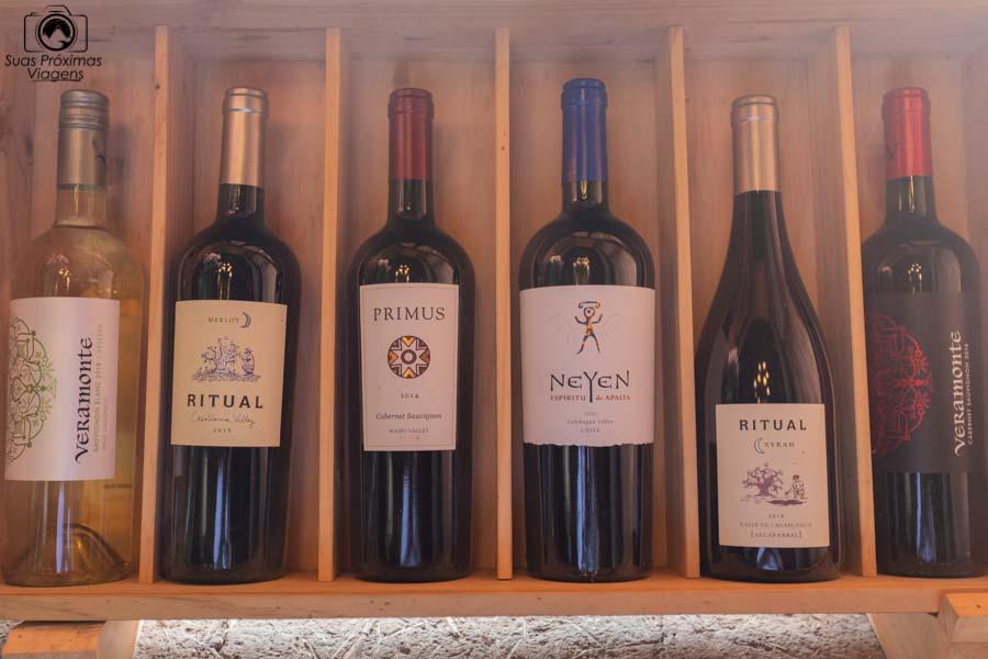 imagem da seleção de vinhos da Neyen