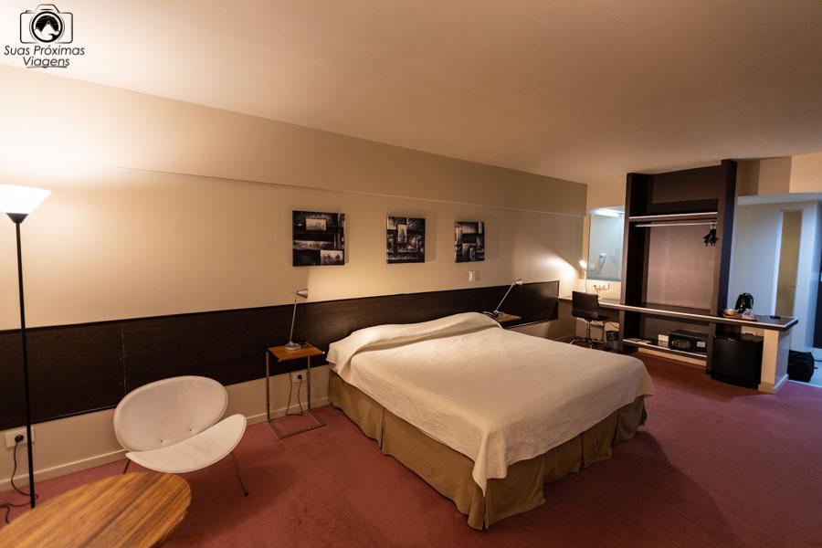 imagem da suite do hotel Uno em onde ficar em Buenos Aires