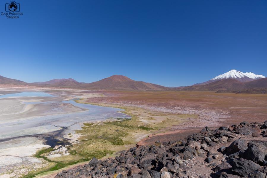 imagem de Piedras Rojas seca no Deserto do Atacama em 2019