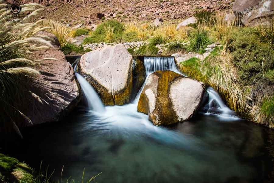 Imagem das termas de puritama no Deserto do Atamaca