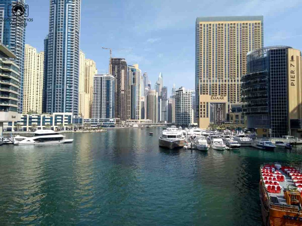 Imagem da Dubai Marina