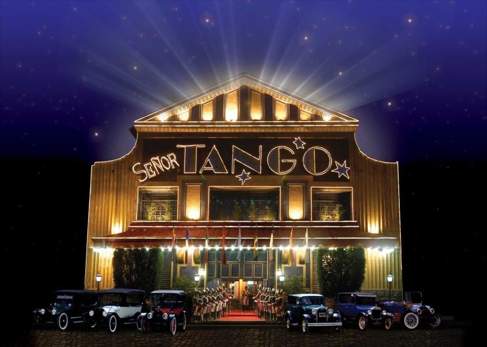 imagem promocional do Sr Tango em Buenos Aires