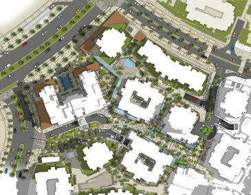 Qamardeen Masterplan  |  UAE  |  Developed @ Atkins