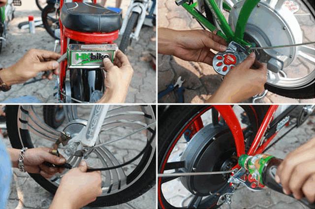 bảo dưỡng xe đạp điện