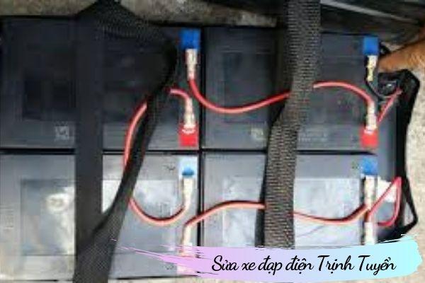 Cách đấu 4 bình ắc quy xe đạp điện