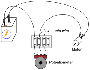 Potentiometer as a Rheostat | DC Circuits | Electronics
