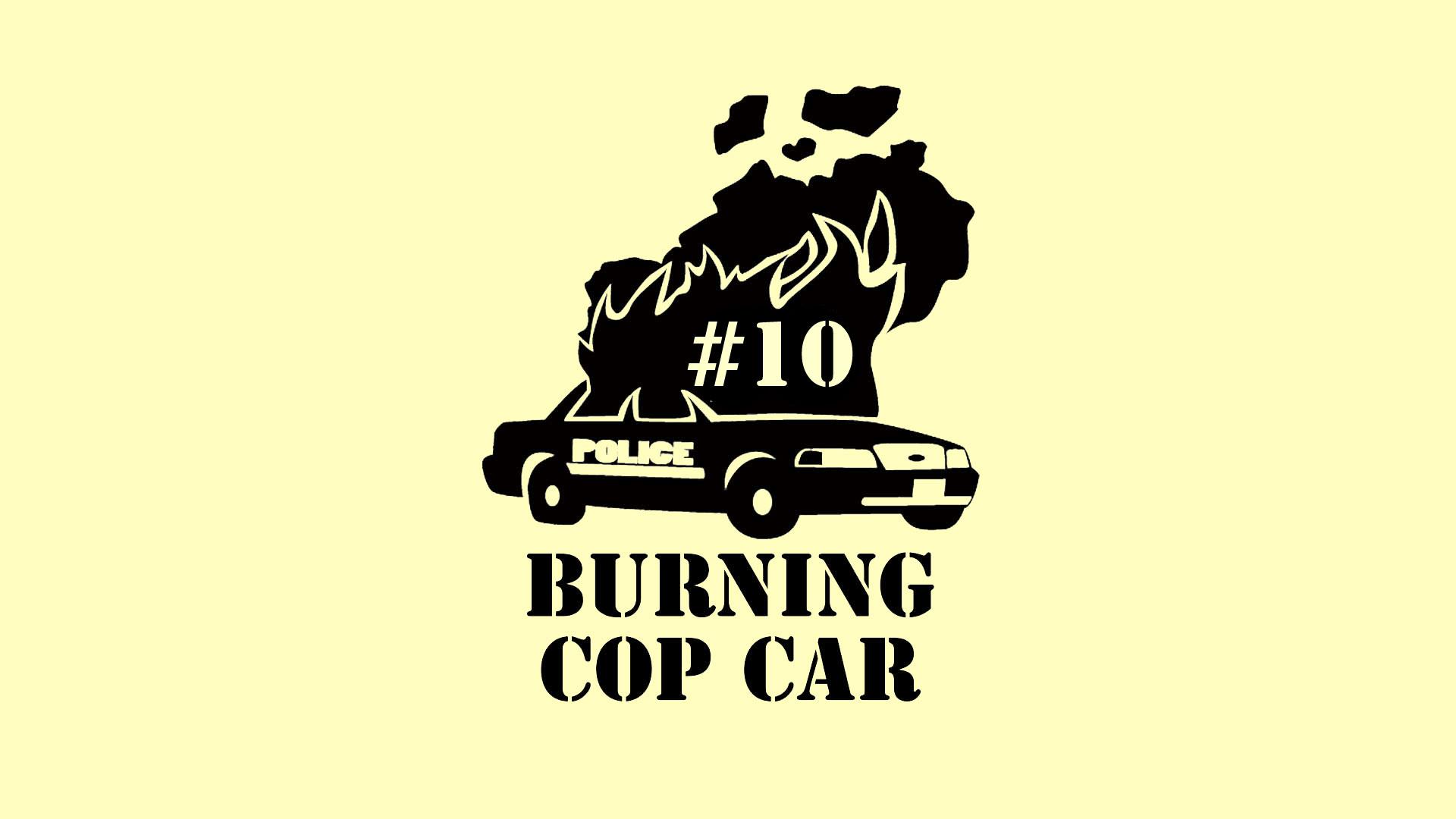 Burning Cop Car – sub Media