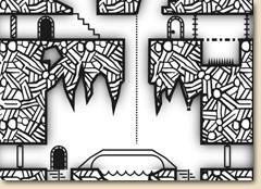 Vertical Dungeon Geomorphs