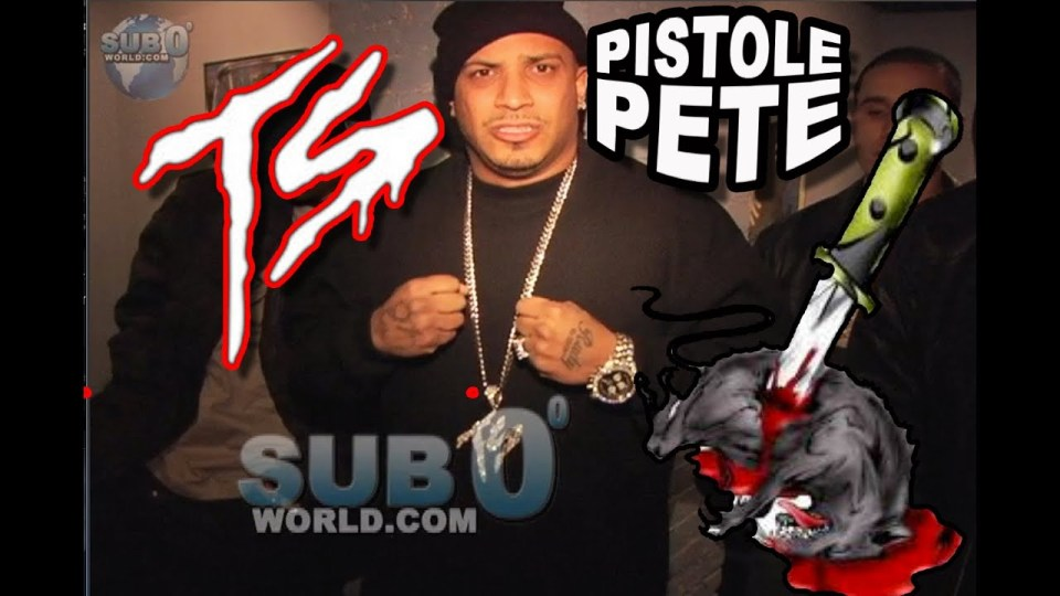 PISTOLE PETE of the TERROR SQUAD!