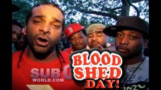 JIM JONES & YUNG BERG!! BLOOD SHED DAY!