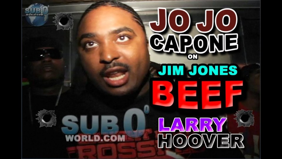 JOJO CAPONE on JIM JONES BEEF!