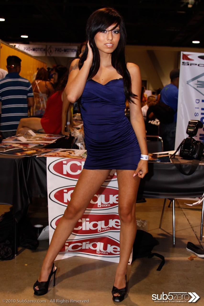 SpoCom 2010 Long Beach Booth Babes Promo Models Go Go Dancers Amp Girls Galore Part II