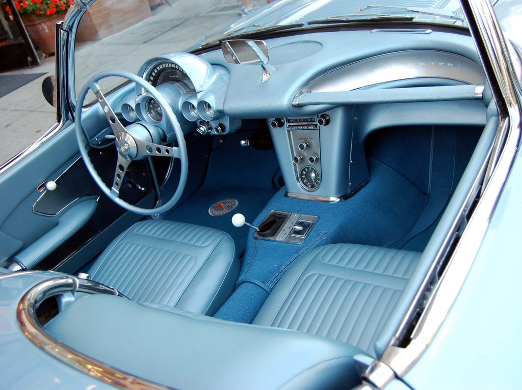 Top 50 Coolest Car Interiors Illustrated List