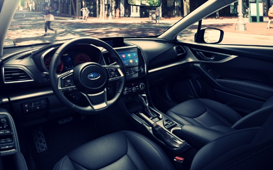 2021 Subaru Impreza Hatchback Interior