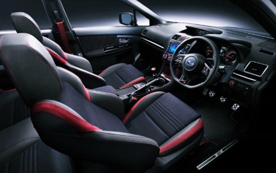 Subaru Impreza WRX STI 2021 Interior