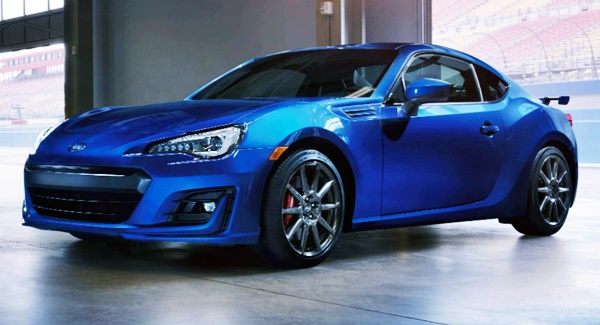 New 2021 Subaru BRZ Concept