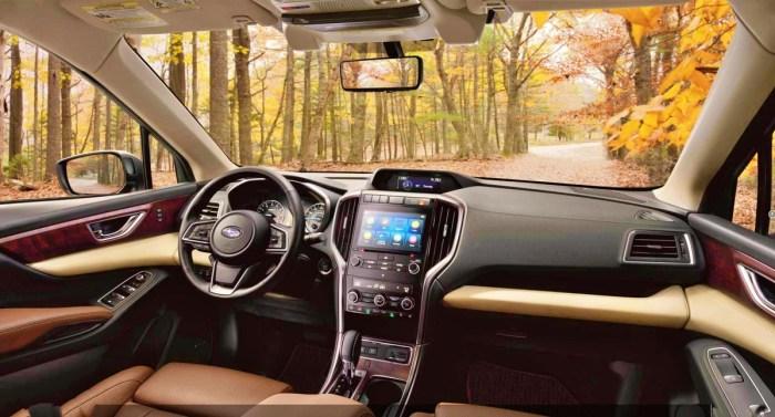 2023 Subaru Ascent Interior