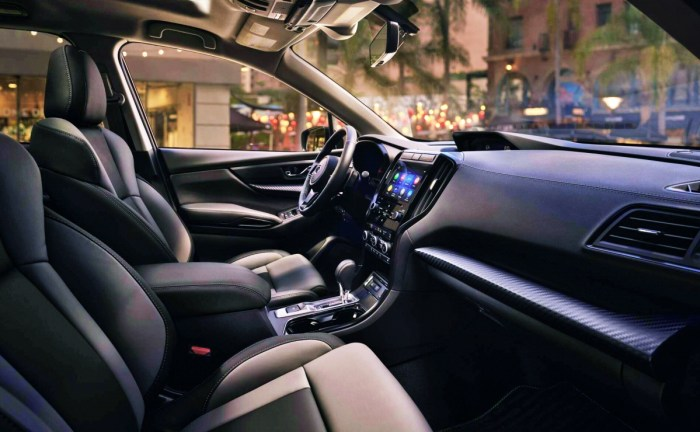 2022 Subaru Ascent Onyx Edition Interior