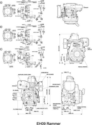 PTX301D Diaphragm Pump Technical Information | Subaru
