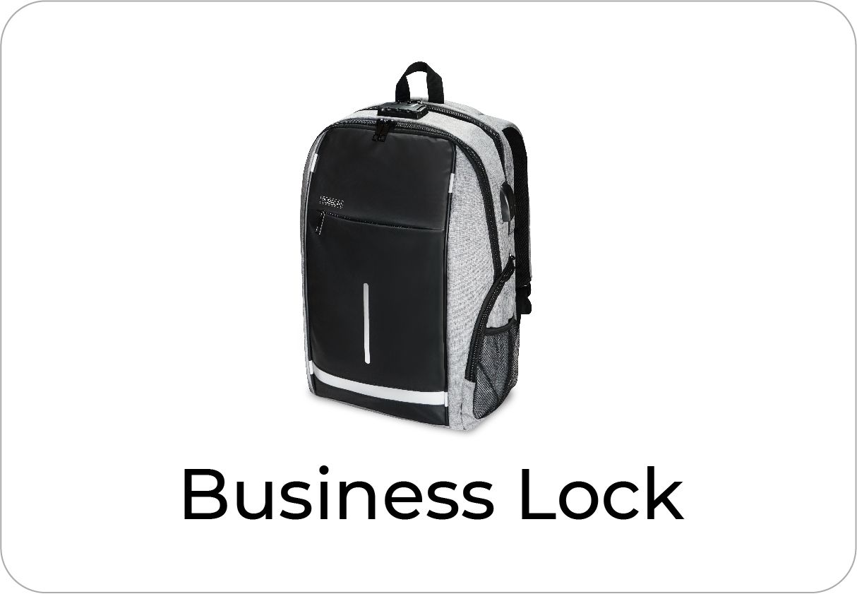 botón soporte mochila business