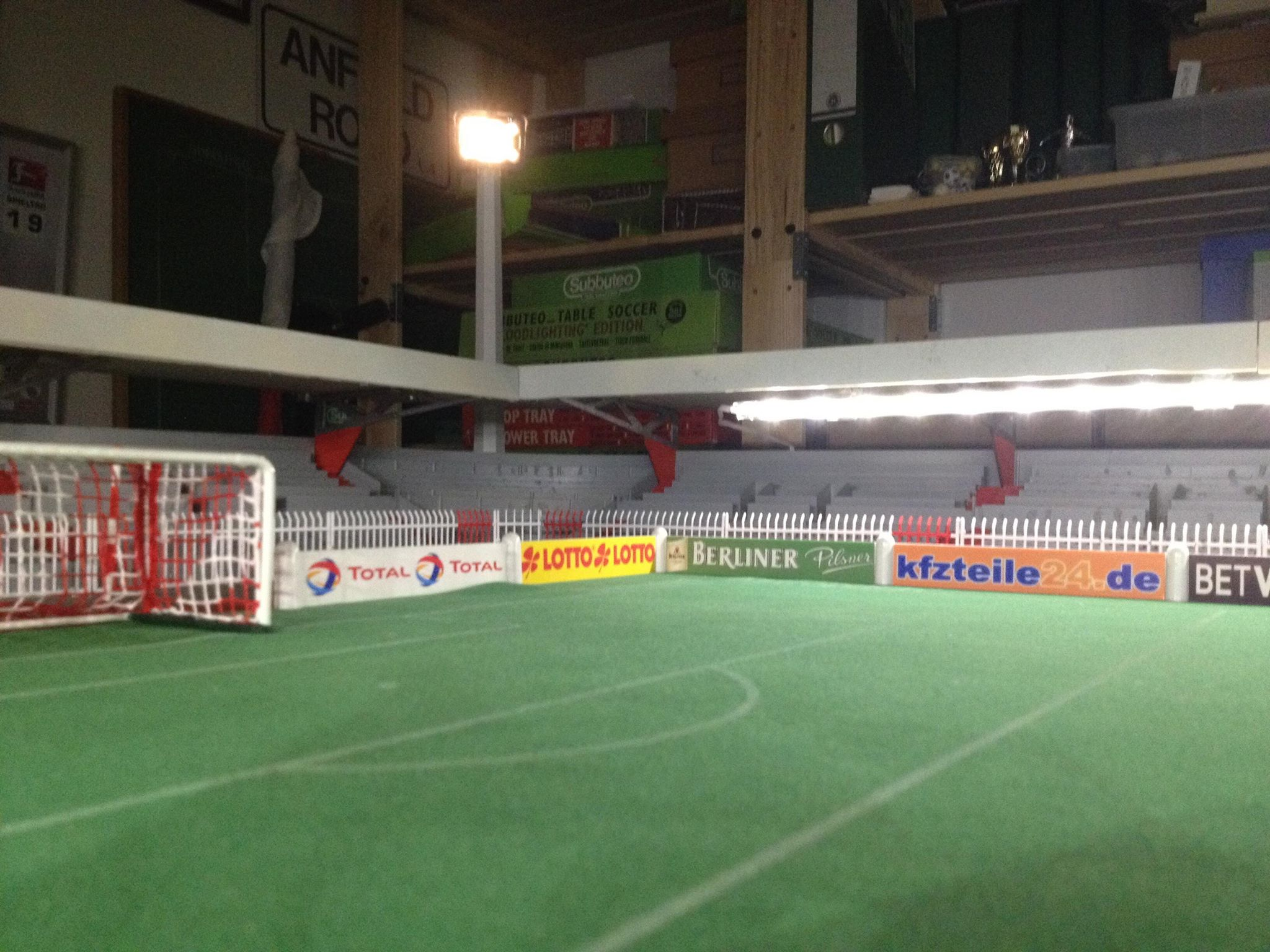 Tickets for union berlin matches can be bought online, at the club shop at the stadium, at the club shop at the bahnhofstraße 23 in kopenick near the stadium, or at the union petrol station near the stadium on the other side of the spree. How one fan built this incredible atmospheric Subbuteo
