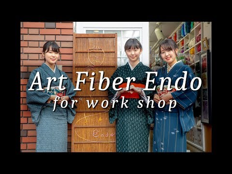 Art Fiber Endo for Work Shop   手芸始めませんか?