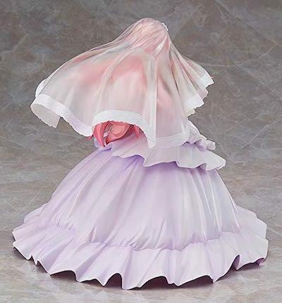 ルイズのウエディングドレス Ver.フィギュアは、後ろ姿でも美しい。