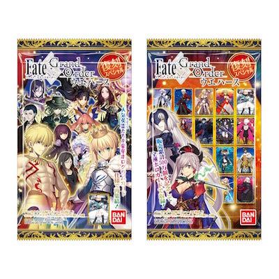 【FGO ウエハース】復刻スペシャルver.が発売決定!過去の人気カードを収録
