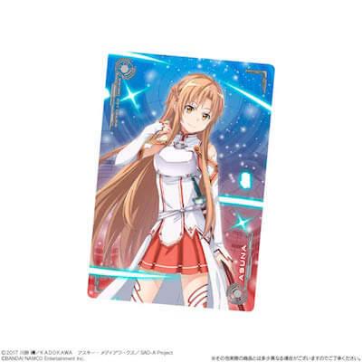 SAO ウエハース2収録のアスナのキャラクターカード