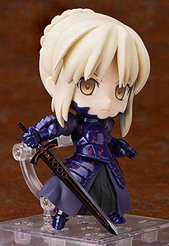 【Fate】ねんどろいど セイバーオルタを画像レビュー!漆黒の聖剣がクール