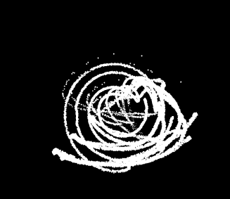 MuBu test, small close together particles