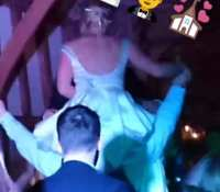 I think Jess (last night's bride ) might have been having a good night… Just a hunch ;) For DJ booking enquiries check out @jonnyrossmusic they also do some amazing acts and bands to accompany me ;) #DJ #subduce #djsubduce #djHenry #jonnyrossmusic #bride #wedding #weddingdj #music #party #dancing #disco