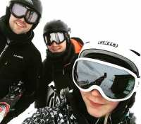 Crazy day out skiing and snowboarding at #glenshee today with @stephenjarmuz, @natashaj95, @jadeaspden and David… Fun and games is a bit of an understatement with 60mph gale force winds, 0 visibility and sections of sheet ice. Miraculously I only came away with a cut eye socket despite the treacherous conditions, then again I did only do about 100m of snowboarding… Hopefully tomorrow the weather will be a bit nicer and we can head over to #nevisrange for a bit of fun…