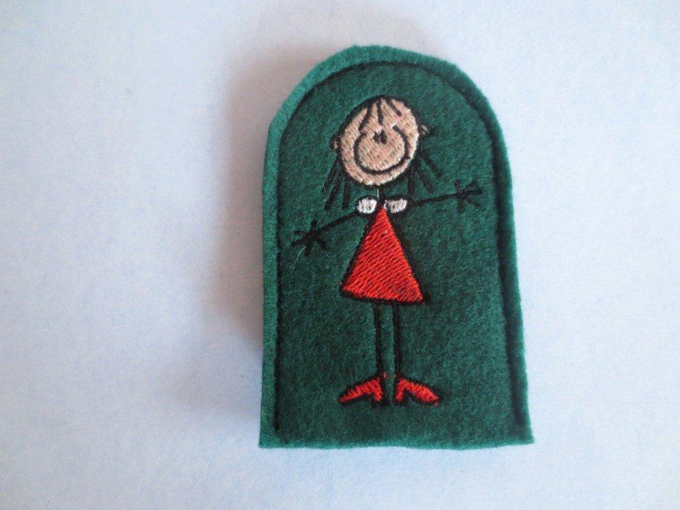 Mother Finger Puppet