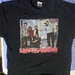 T-shirt laid flat