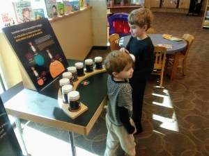Science at the library before COVID-19