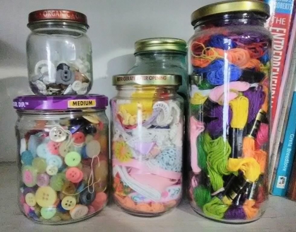 Scrap jars