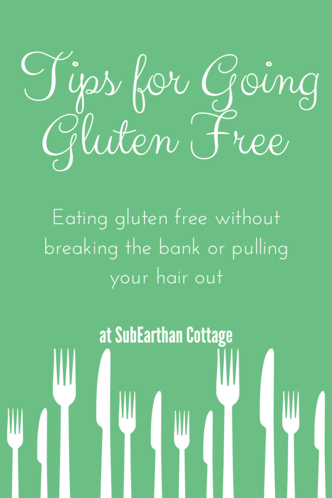 Tips for going gluten free
